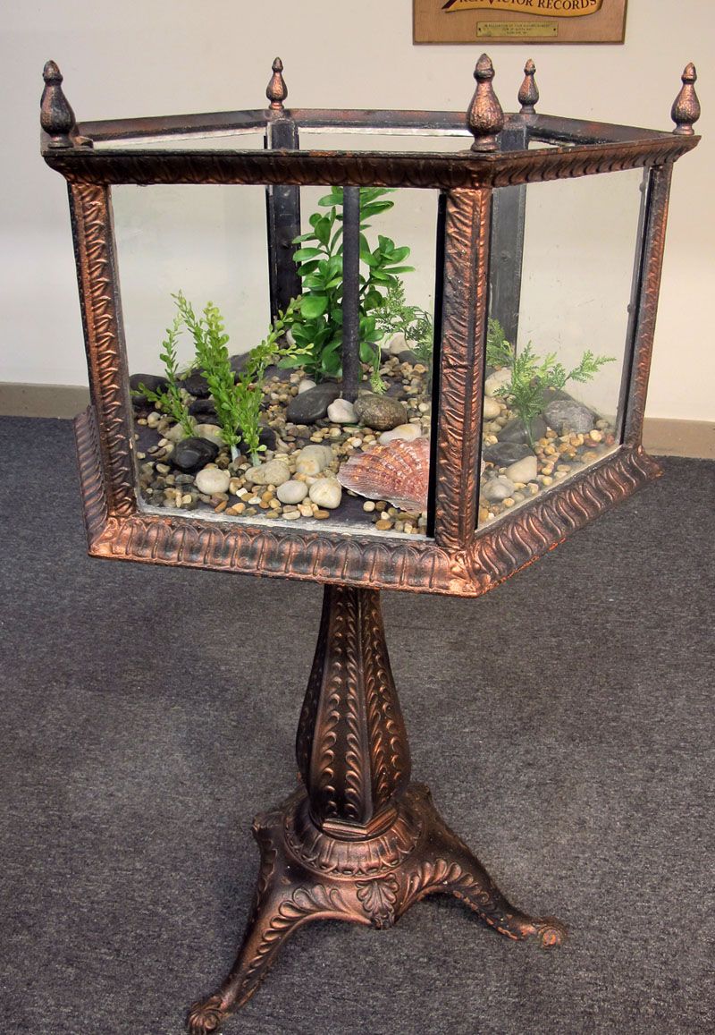 J W Fiske Cast Iron Aquarium