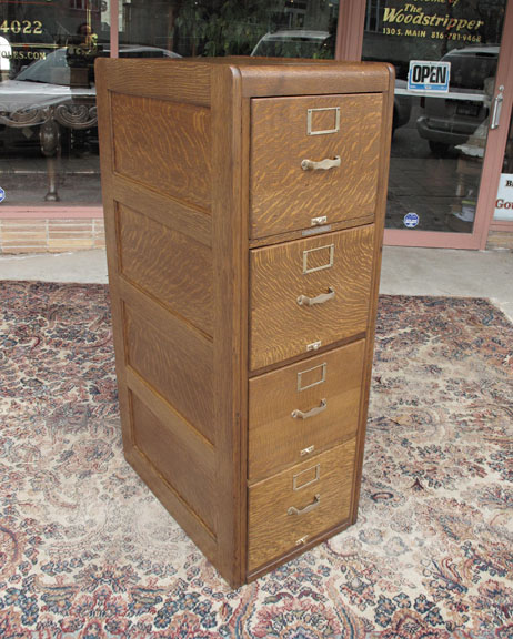 oak filing cabinets 4 drawer | Roselawnlutheran
