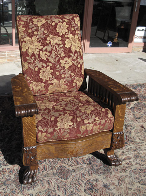 oak morris chair value 2